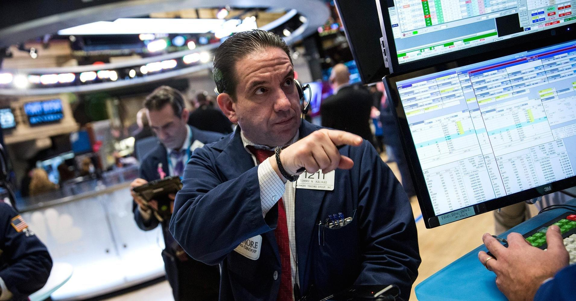 Stocks slide as Trump policy uncertainty weighs; energy and industrials lag