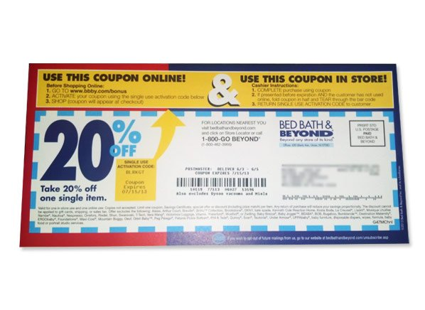 how to use bed bath and beyond coupons 1