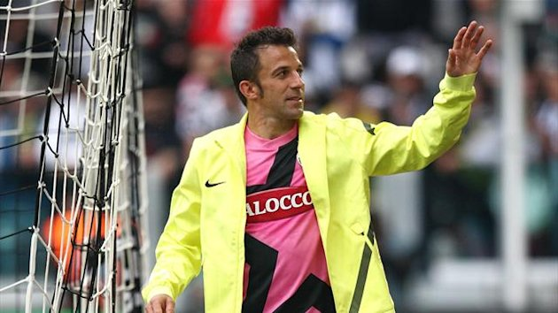 2011-2012 Serie A Juventus Del Piero