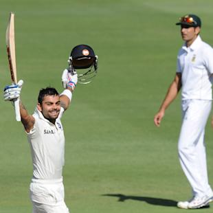 Virat Kohli leads India's counterattack