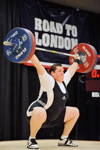 American weightlifter Sarah Robles, 23