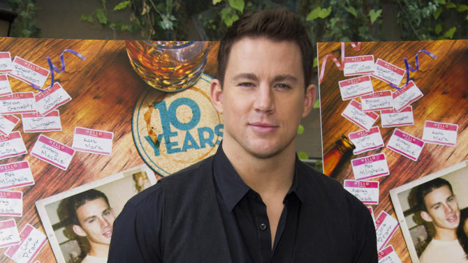 "FILE - In this Sept. 16, 2012 file photo, Channing Tatum attends a brunch event for the new film ""10 Years"" in New York. Tatum and his wife Jenna Dewan-Tatum are expecting their first child in 2013, their reps confirm. (Photo by Charles Sykes/Invision/AP, File)"