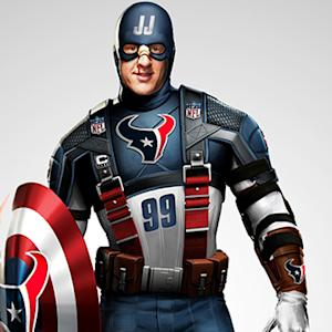 NFL stars as your favorite super heroes