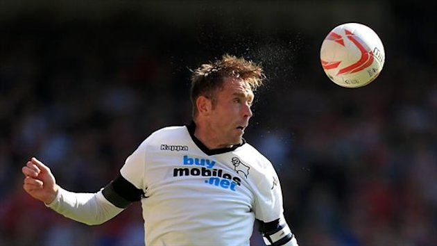 Derby captain Richard Keogh is set for a spell on the sidelines