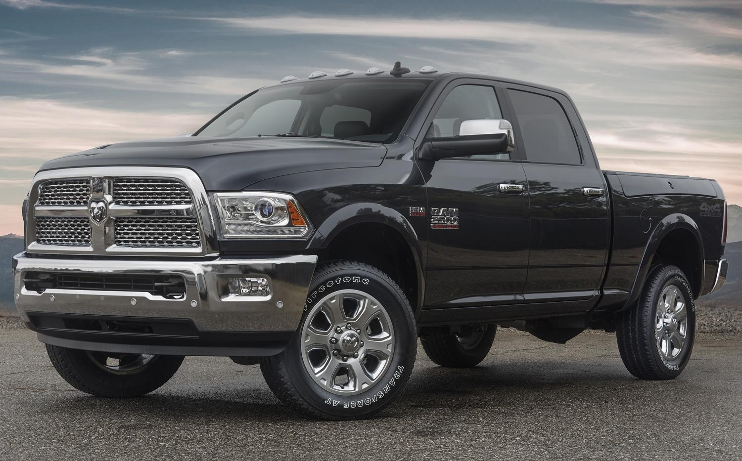 A 4×4 Off-Road package helps the Ram 2500 go farther off the beaten path