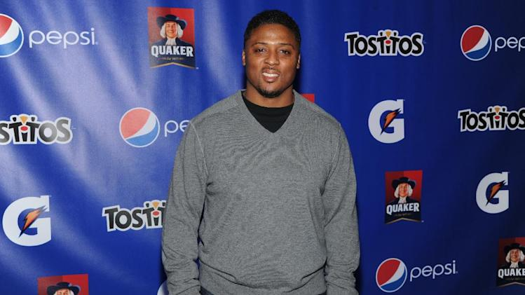 IMAGE DISTRIBUTED FOR PepisCo - Former NFL player Warrick Dunn attends the PepsiCo Pre-Super Bowl Party, at Masquerade Night Club, on Friday, Feb. 1, 2013 in New Orleans. (Photo by Evan Agostini/Invision for PepsiCo/AP Images)