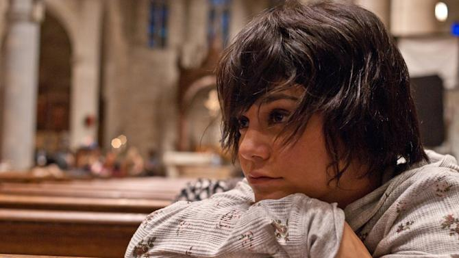 "This image released by Roadside Attractions shows Vanessa Hudgens in a scene from ""Gimme Shelter."" (AP Photo/Roadside Attractions)"