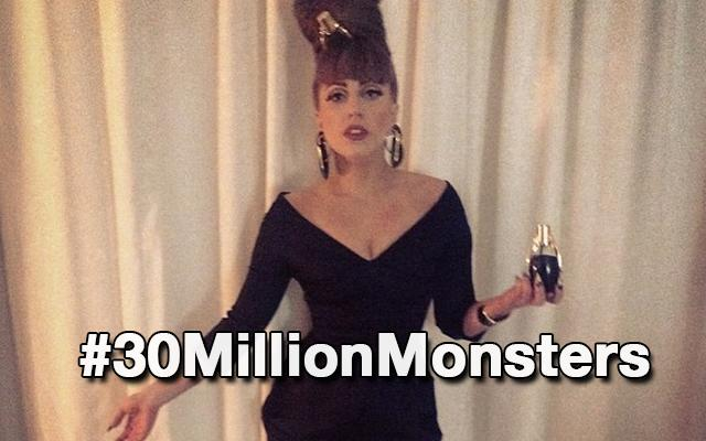 Lady Gaga Is First to Hit 30 Million Twitter Followers