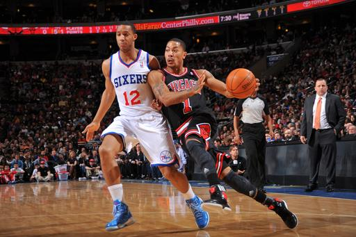 Rose scores 35 as Bulls hold off 76ers 96-91