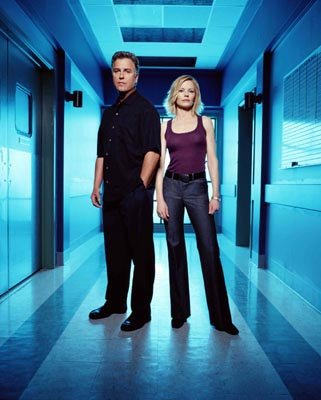 "William Petersen and Marg Helgenberger CBS' ""CSI: Crime Scene Investigation"" CSI: Crime Scene Investigation"