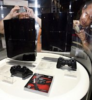Sony's Playstation 3 at the Tokyo Game Show 2006. The PS4 is to be revealed on Wednesday