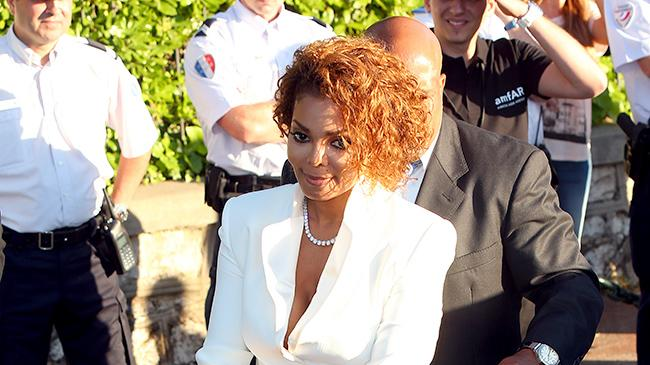 Janet Jackson attends amfAR's 20th Annual Cinema Against AIDS