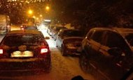 Snow: Hundreds Trapped In Cars Overnight