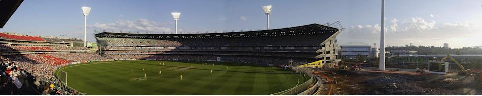 A Panoramic view of the Melbourne Cricket Ground