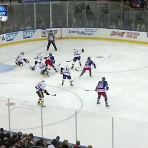 Pekka Rinne Save on Mats Zuccarello (03:16/3rd)