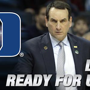 Duke's Coach K & Quinn Cook On Facing Utah in Sweet 16 | ACC Road To Indy