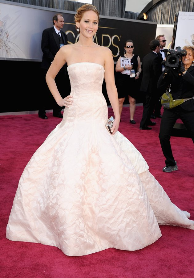 Jennifer Lawrence opted for…