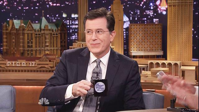 The Expensive Prank Colbert Pulled on Fallon