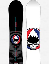 Win a Grateful Dead 'Steal Your Face' Burton Snowboard