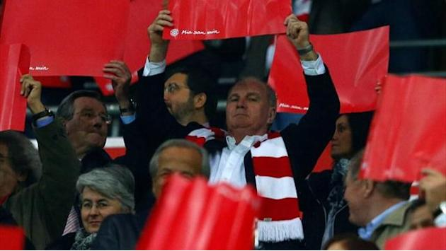 Bundesliga - Hoeness: Swiss account unrelated to Bayern