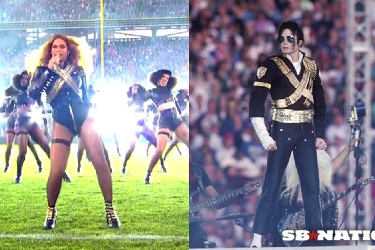 Beyonce's Super Bowl halftime show outfit was a tribute to Michael Jackson