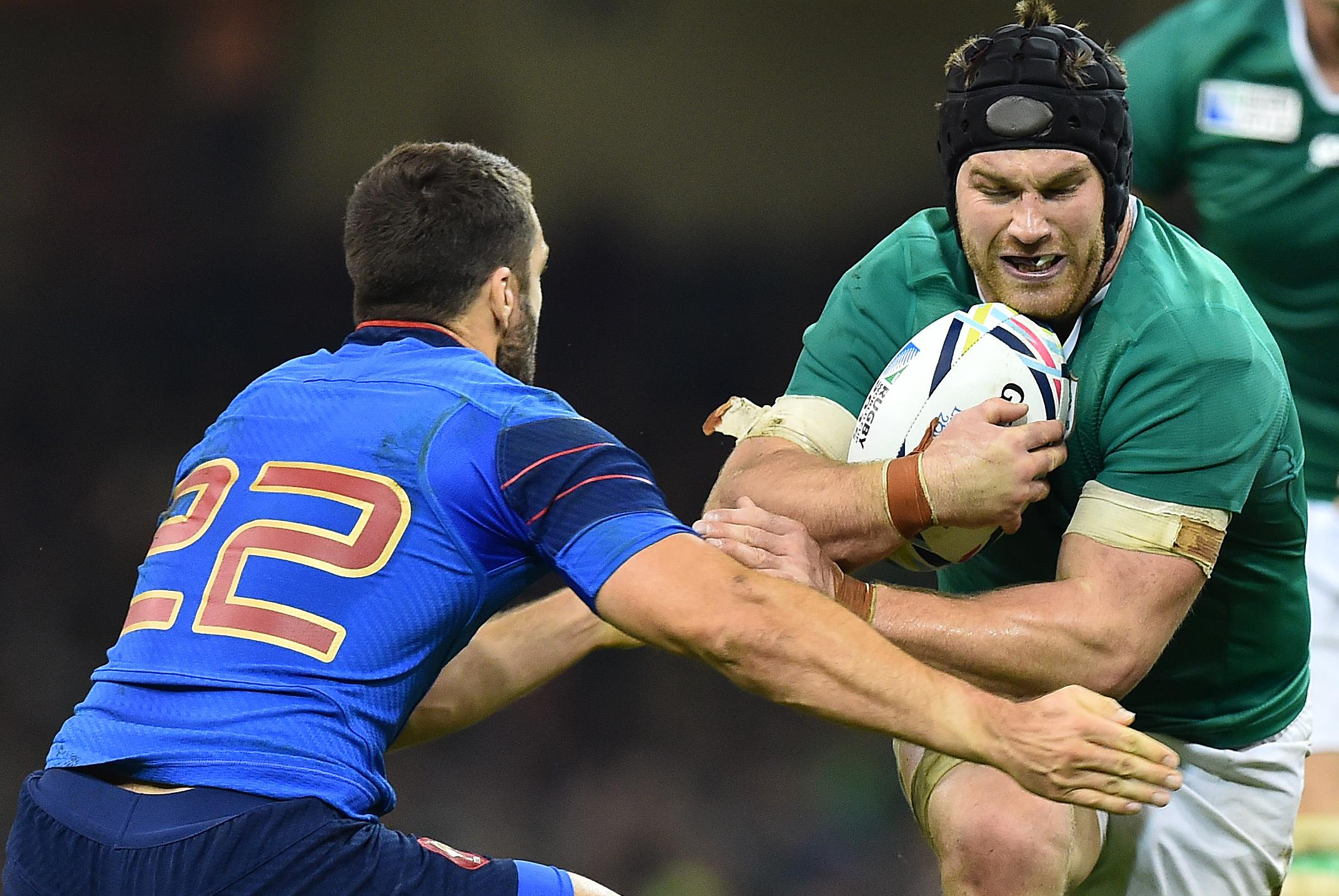 Ireland's O'Brien suspended, misses World Cup quarter-final