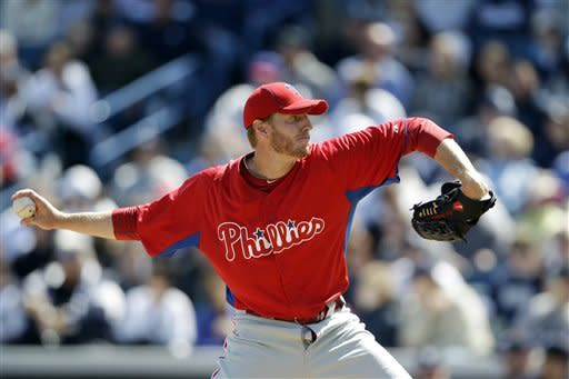 Rodriguez homers off Halladay, Yanks beat Phillies