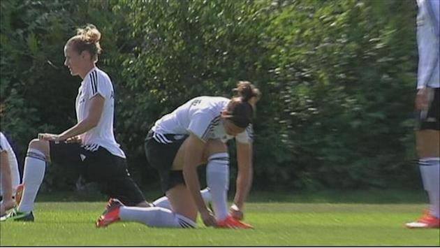 Women's Euro - Chastened Germany prepare for Italy test