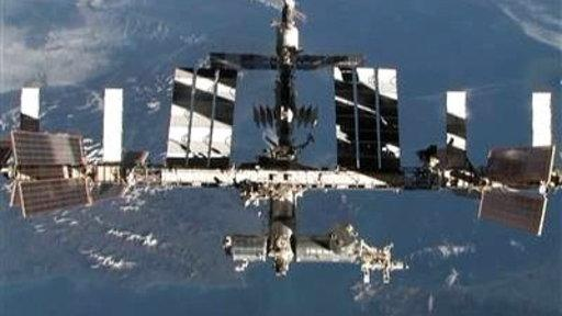 Ammonia Leaks from International Space Station