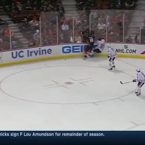 Chicago Blackhawks at Anaheim Ducks - 01/30/2015