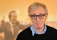 US film director Woody Allen poses during the photocall for his movie &quot;To Rome With Love&quot; in Rome. Fans of Allen&#39;s films have seen signs of a creative revival for the master after his 1970s classics such as &quot;Annie Hall&quot; and &quot;Manhattan&quot;