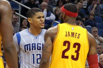 LeBron James deactivated 'chill mode' after Tobias Harris talked trash