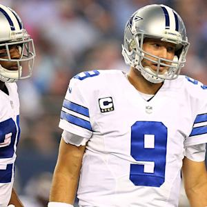 Will Tony Romo stumble with banged up running game?
