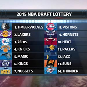 Boomer & Carton: Knicks pick 4th in 2015 NBA draft