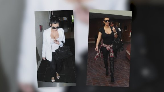Pregnant Kim Kardashian Shows …