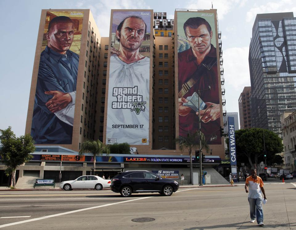 Man mugged for copy of 'Grand Theft Auto V'