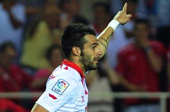 Negredo: Navas link-up helped convince me to join Manchester City