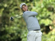 Chris Kirk during the Northern Trust Open in Pacific Palisades, California, in February. The True South Classic, playing opposite the British Open at Annandale Golf Club this week, is a chance for some of the US PGA Tour's lesser lights to shine