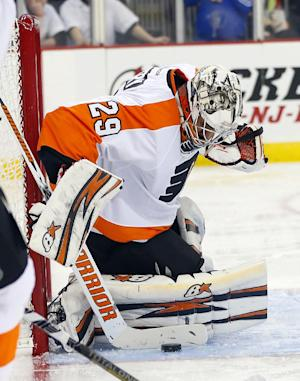 Emery, Flyers fight back, blank Devils, 1-0