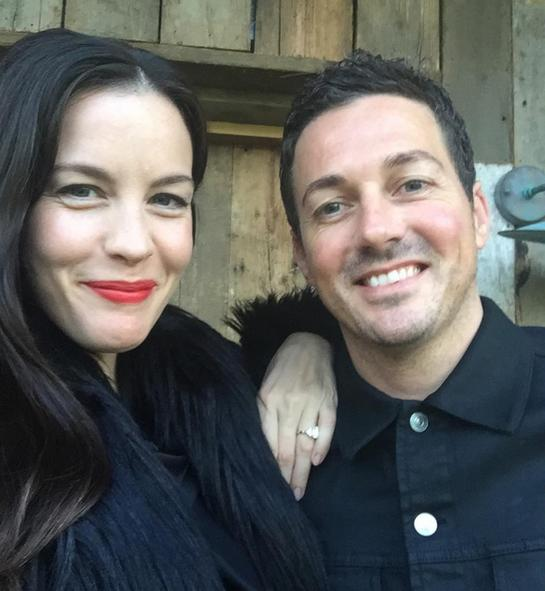 Liv Tyler Shows Off Diamond Ring After Confirming Engagement