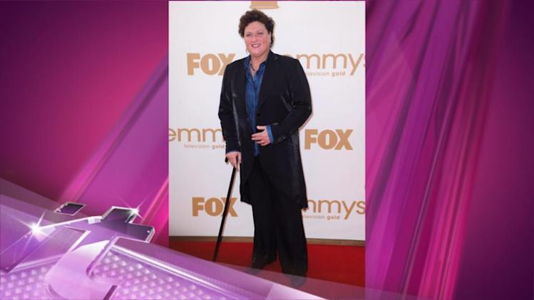 Entertainment News Pop: Glee's Dot-Marie Jones Talks Third Nomination, Reveals She's Returning for Season 5!