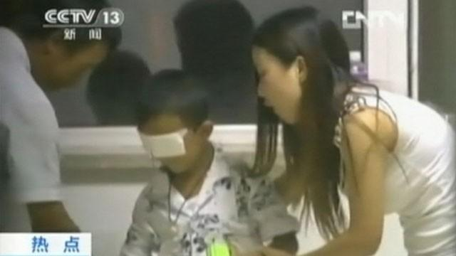 Blinded Boy's Aunt Accused of Eye Gouging