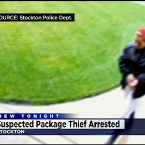Police: Suspected Stockton Package Thief Arrested