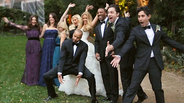 New Photos: Cacee Cobb and Donald Faison's Wedding (ABC News)