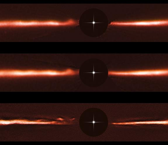 These Mysterious Blazing-Fast Ripples Racing Around a Star Defy Explanation
