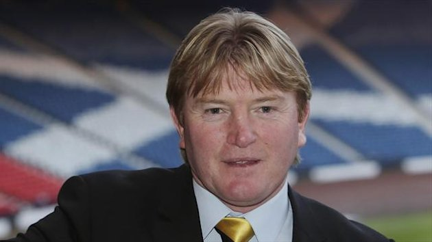 Stuart McCall is part of Scotland's coaching set-up