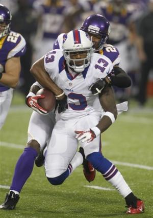 Bills let Ponder, Vikings move freely in 36-14 win