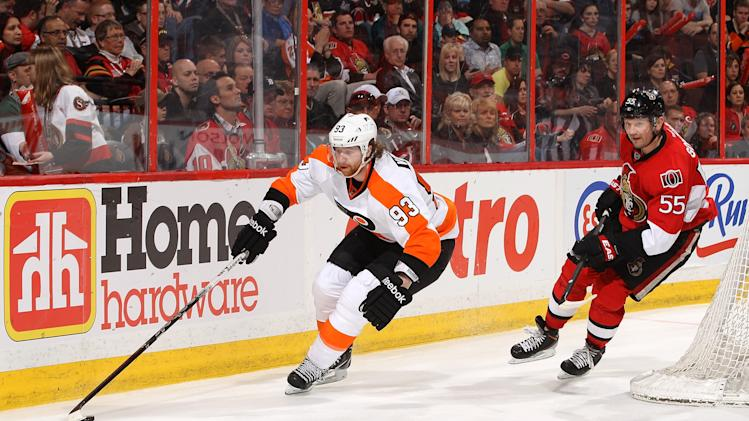 Philadelphia Flyers v Ottawa Senators