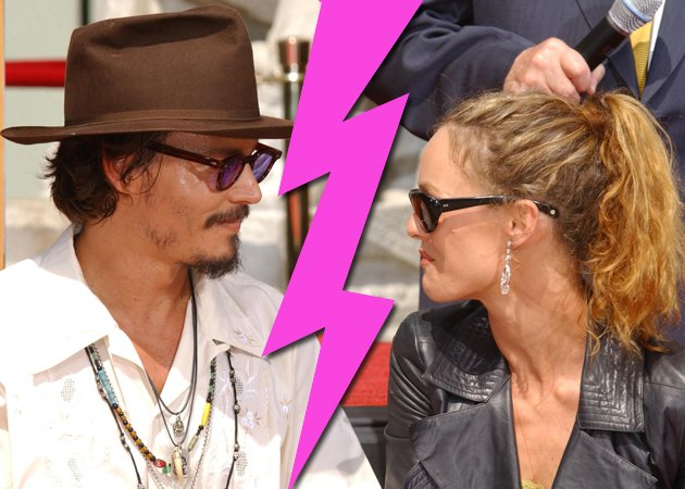 johnny depp vanessa paradis split