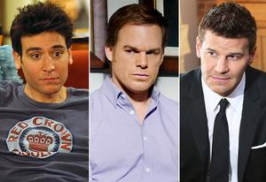 Josh Radnor, Michael C. Hall, David Boreanaz | Photo Credits: Ron P. Jaffe/CBS; Randy Tepper/Showtime; Adam Taylor/FOX